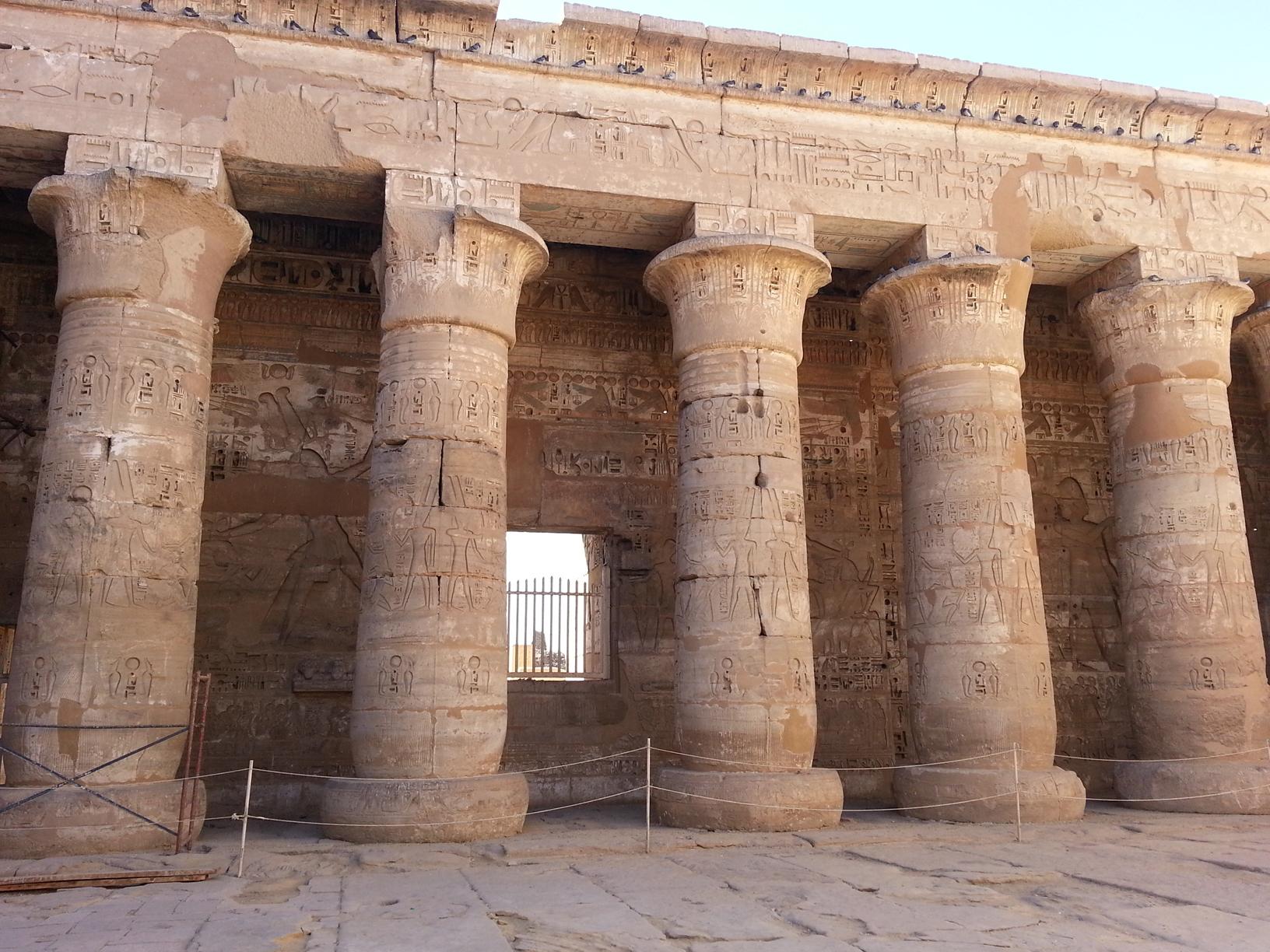El templo de Madinat Habu