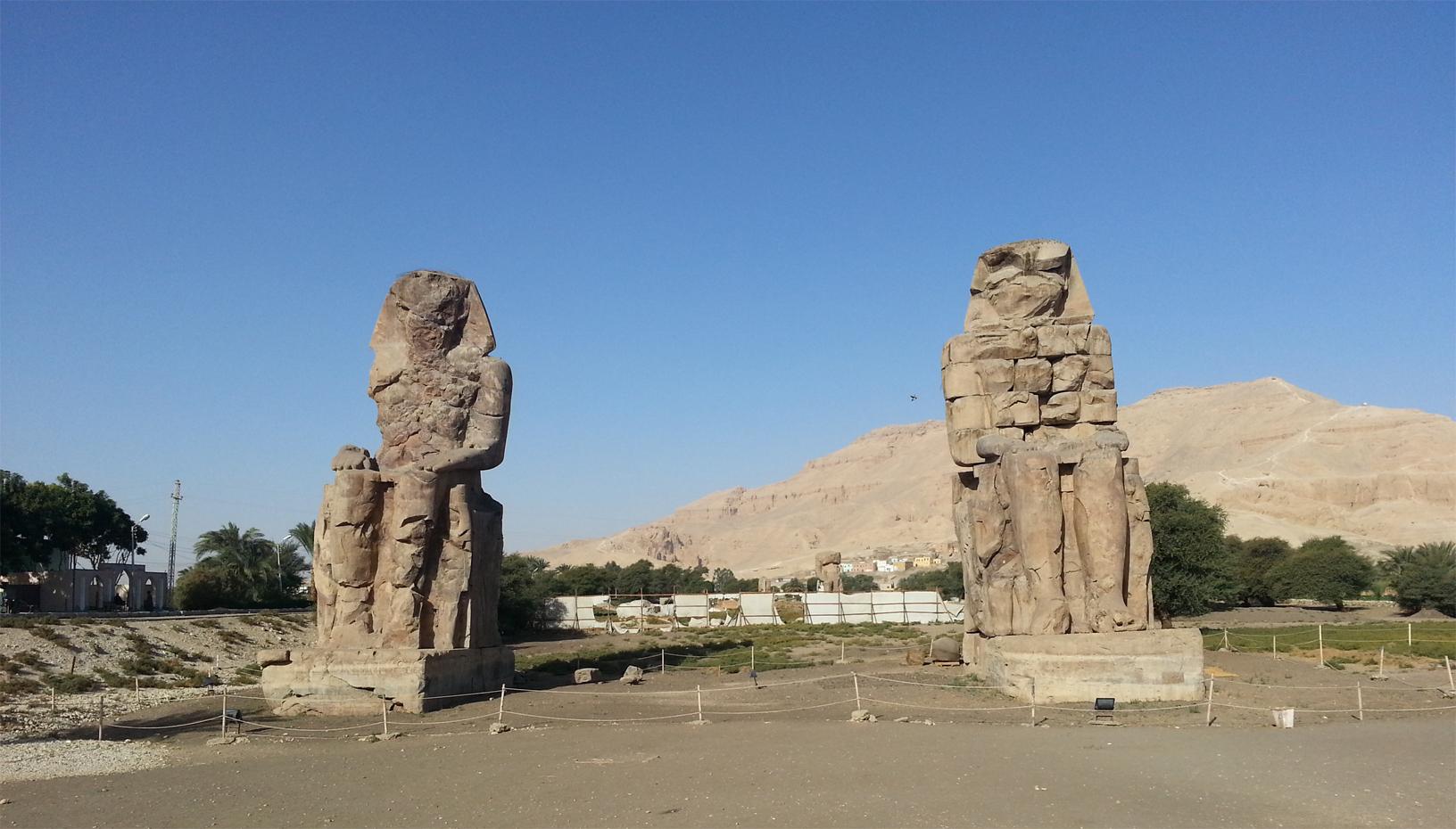 Memnon Colossi tour