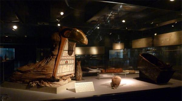 Golden Ram mummy.