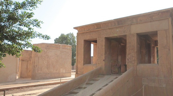 Karnak Temple White Chapel