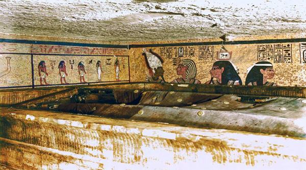 Sarcophagus of king Tutankhamon.