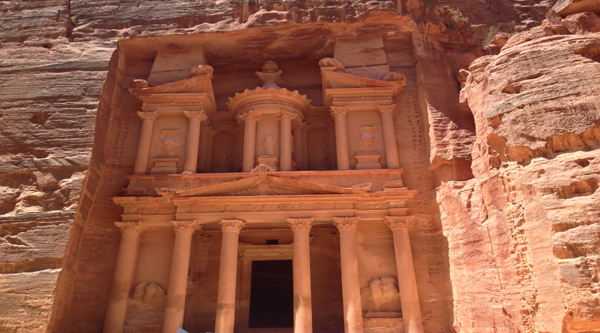 Al-Khazna Temple in Petra
