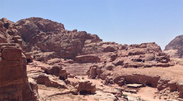Remains of the ancient amphiteatre
