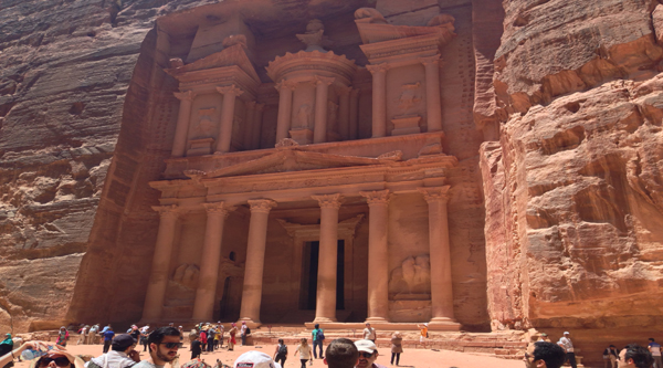 Treasury or the main Temple in Petra
