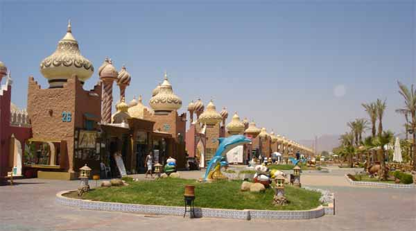 Excursions to one thousand and one night in Sharm El Sheikh