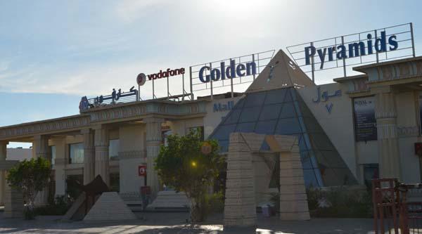 Naama Bay, Golden Pyramids mall