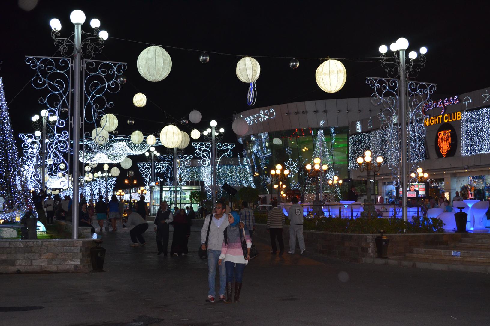 At Soho square in Sharm el Sheikh