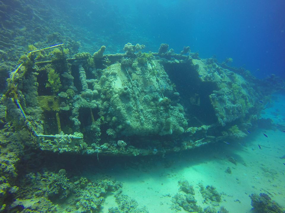 Red Sea ship wreck