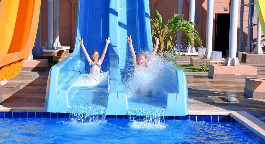 Toboggans aquatiques pour les enfants à Sharm El Sheikh
