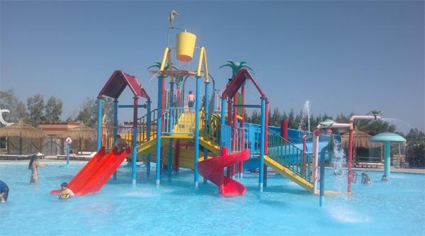 Kids area in Sharm el Sheikh aqua-park