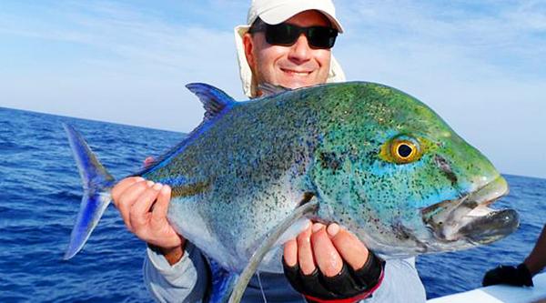 Удачная рыбалка в Красном море