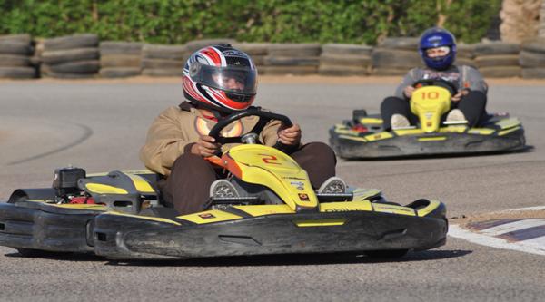 Ghibly race-way in Sharm el Sheikh