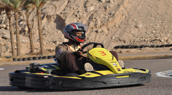 Ghibly karting at Sharm el Sheikh