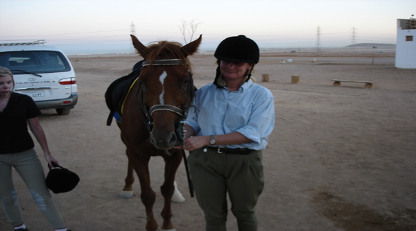 Sainai desert horse riding excursion