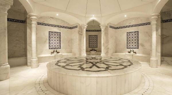 Внутри традиционной хамам