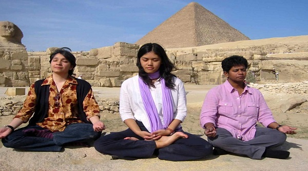 Meditation Tour at the Pyramids