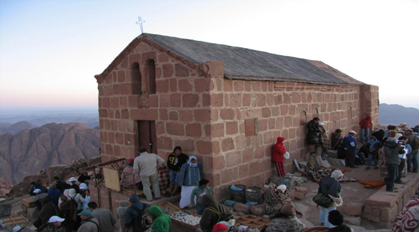 The Church at the top of Mount Sinai