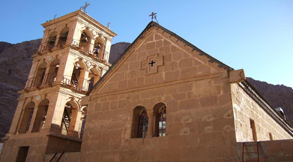 The main church in the Monastery of St. Catherine