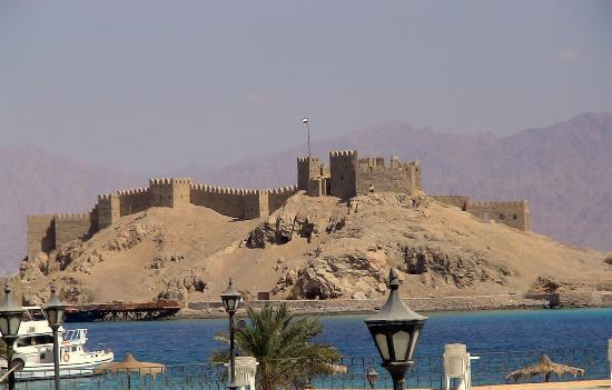 Saladin Citadel from Taba