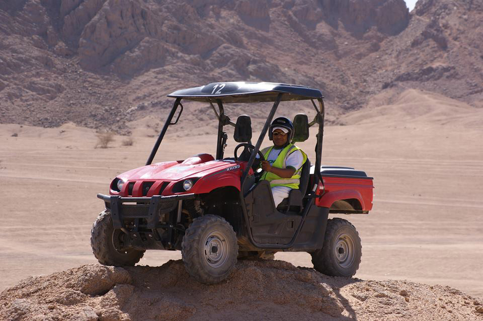Vehículo de arena o buggy de playa