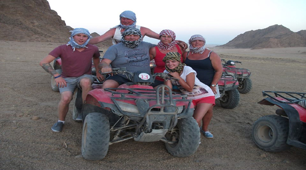Quad-biking safari in Hurghada