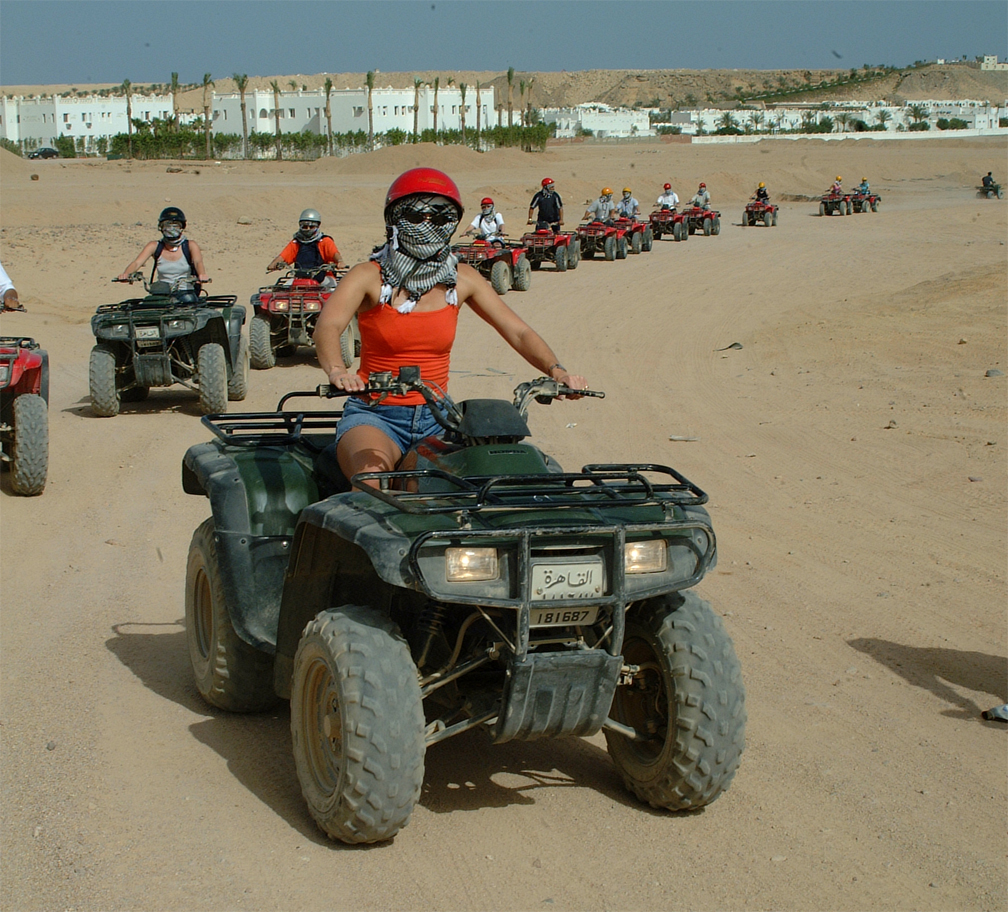 Quad-biking & Turkish bath experience