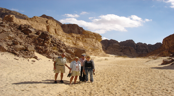 Canyon trips on Sinai