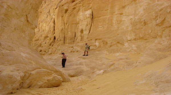 Excursion to a canyon in Sharm el Sheikh