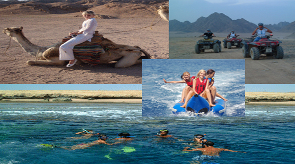 Five activities in one excursions on Mega safari tour