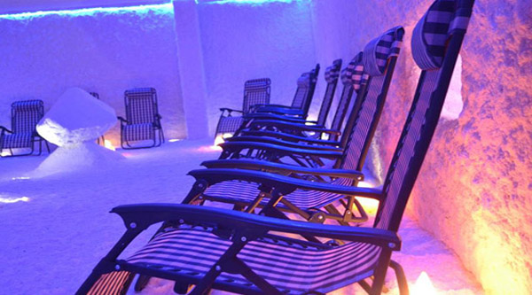 Relax in Sharm salt Cave