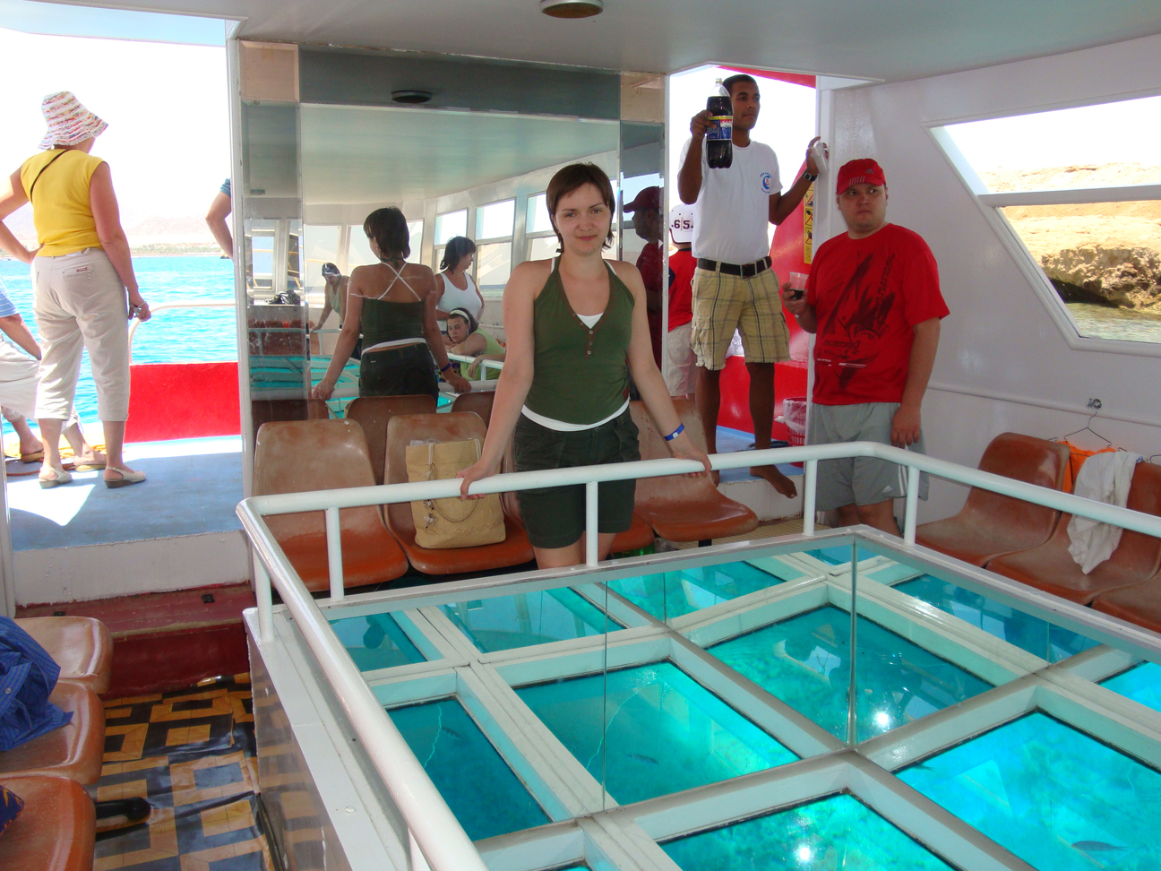 Glass bottom boat Sharm el Sheikh excursion