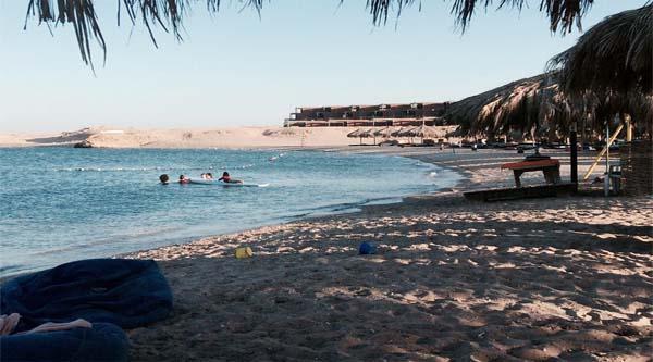 Пляж в заповеднике Шарм эль Нага