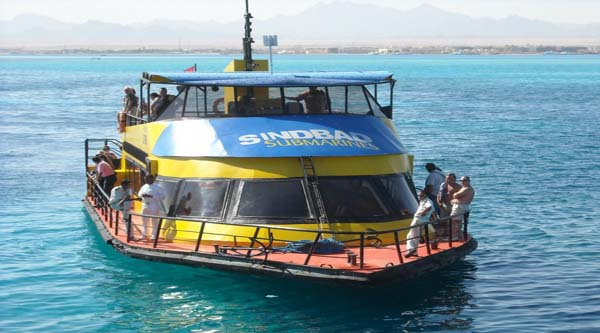 Submarine excursion in Hurghada