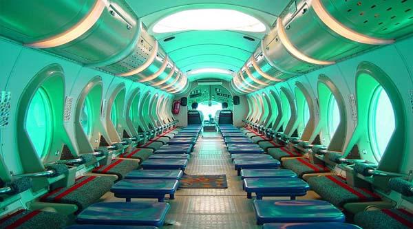 Interiors of the Submarine