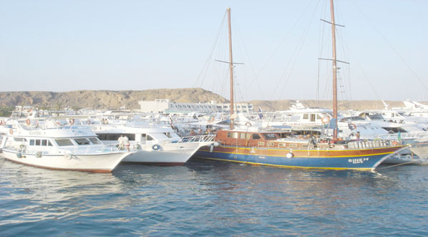 Sea trips on a private boat from Sharm el Sheikh
