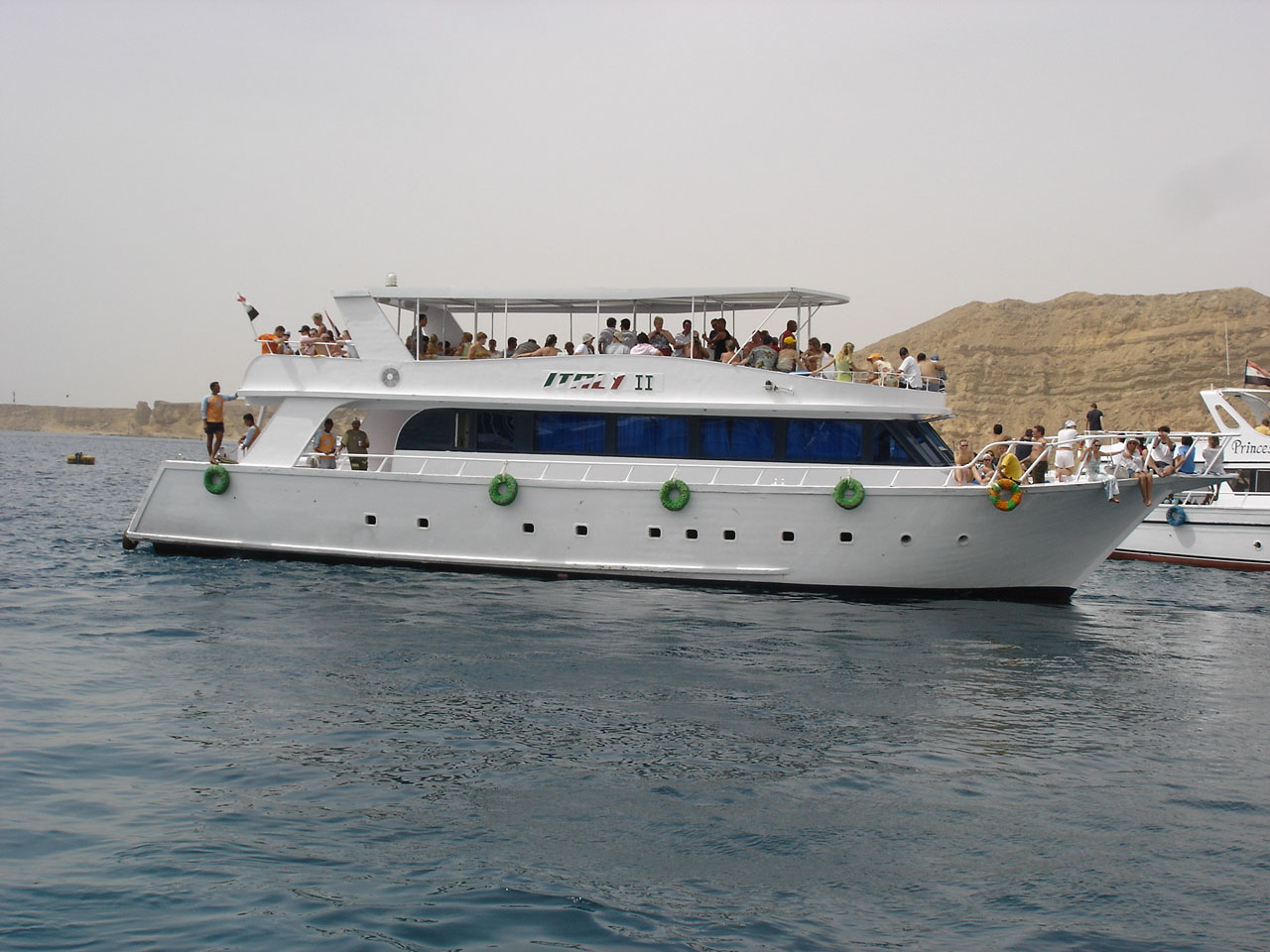 Boat trips from Sharm el Sheikh to Tiran island