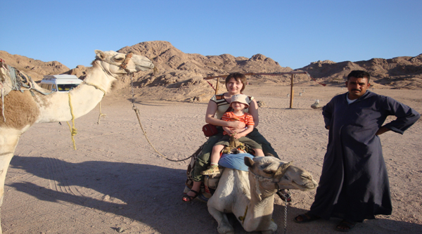 Camel riding excursion in Sharm el Sheikh