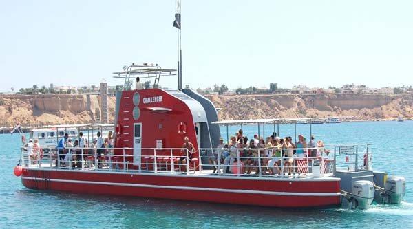 Excursions on the yellow submarine in Sharm el Sheikh