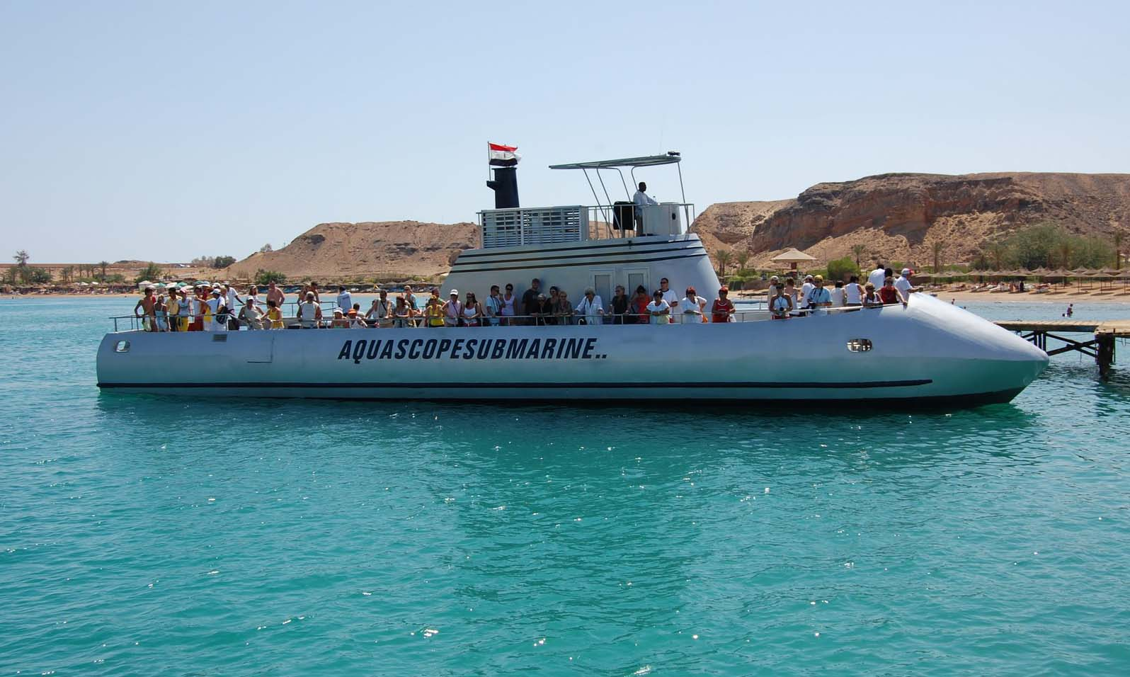 Excursiones semi submarinas en Sharm el Sheikh