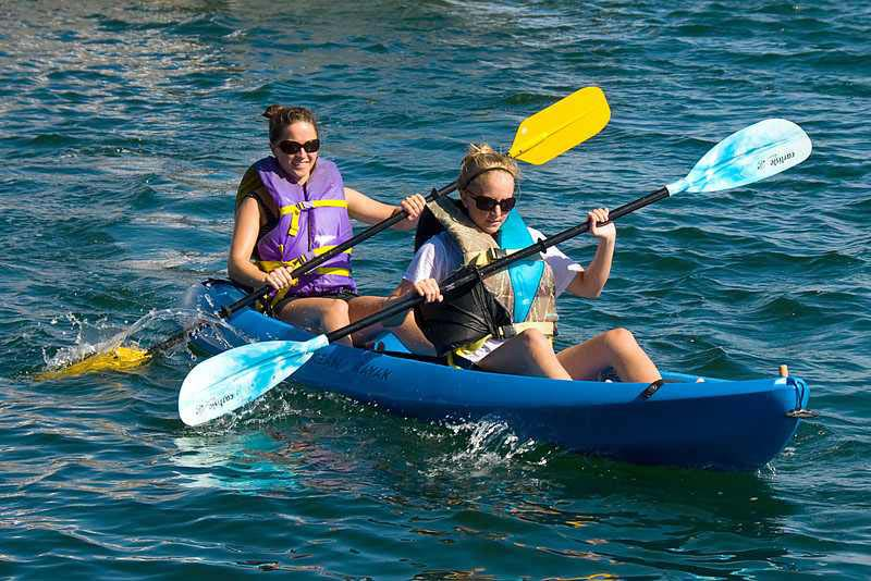 Sharm el Sheikh water sports kayaking
