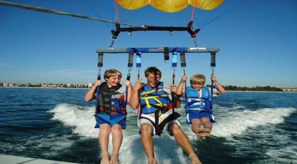 Things to do in Egypt, Parasailing tours in Sharm El Sheikh