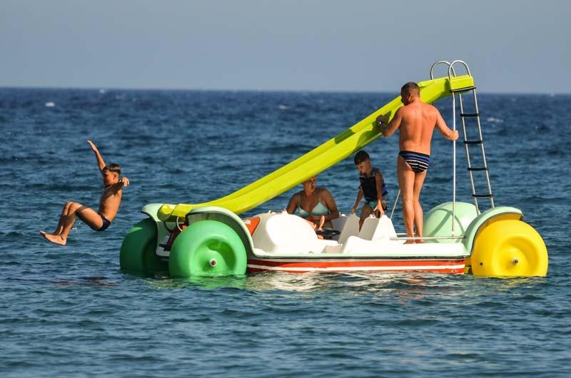 Pedal boat excursions in Sharm el Sheikh