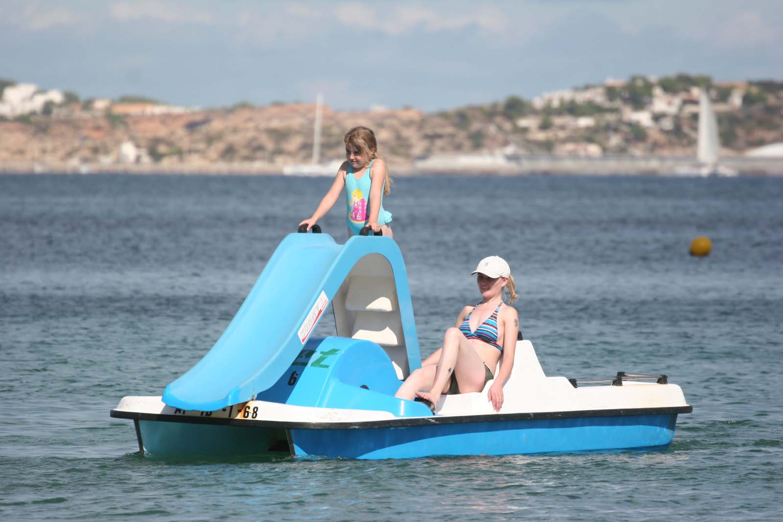 Sharm el Sheikh pedalo ride