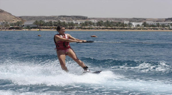 Sharm el Sheikh water skiing excursion