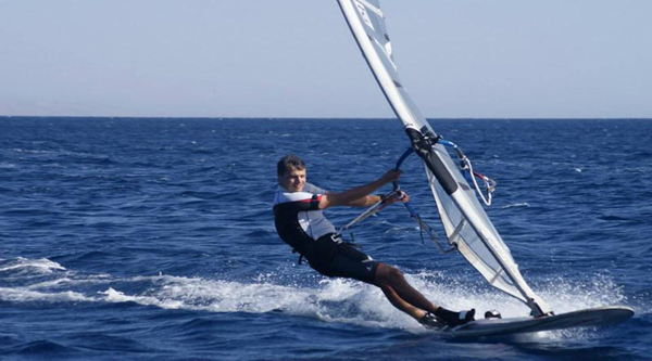 Sharm el Sheikh water sports - windsurfing