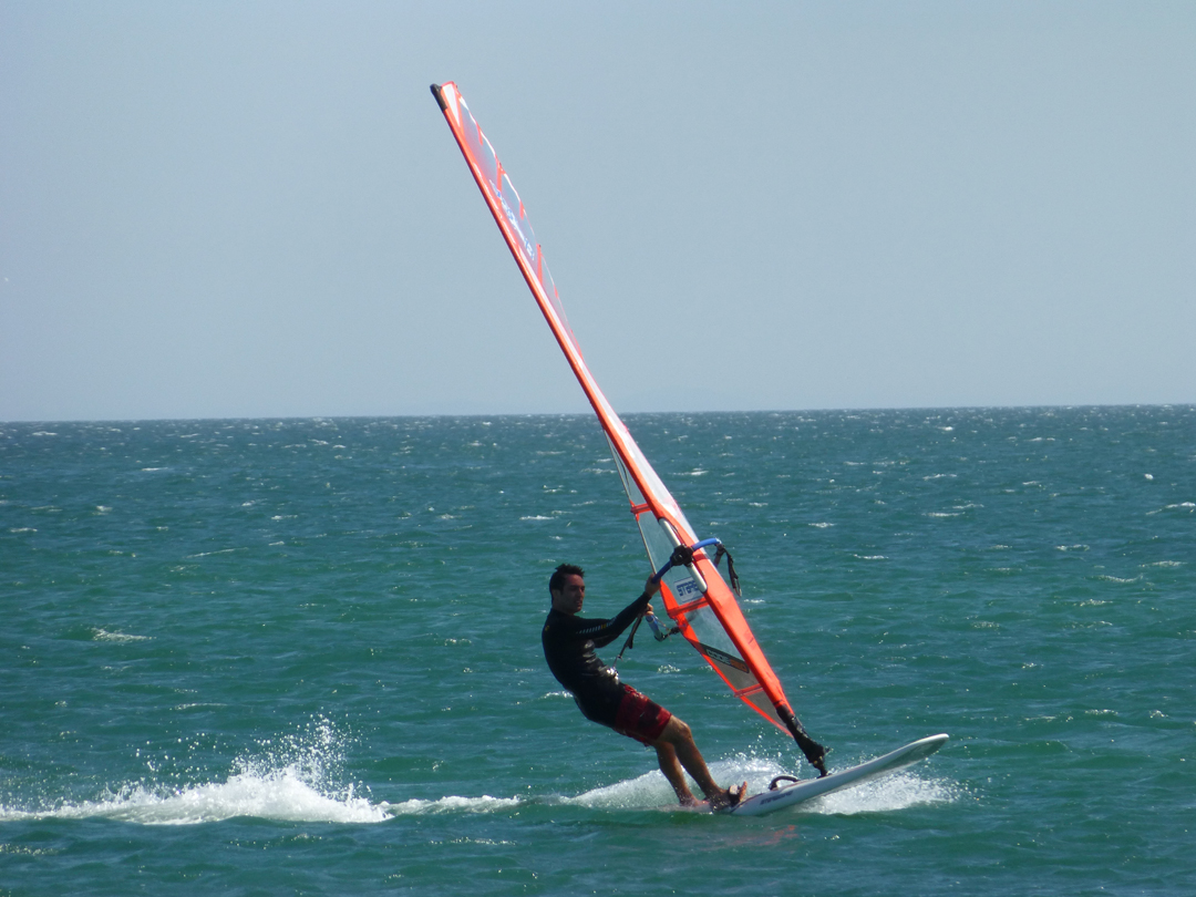 Sharm el Sheikh water sports - windsurfing