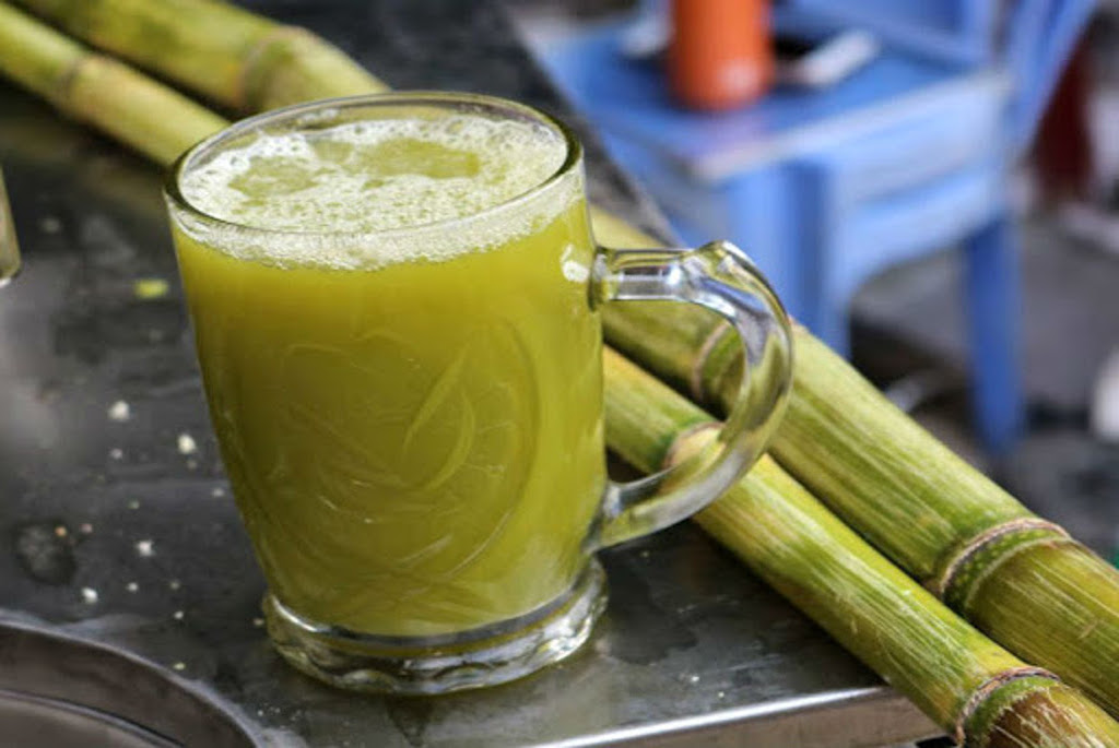 Aseer Asab or sugarcane drink