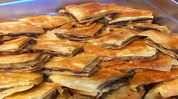Egyptian pie with meat