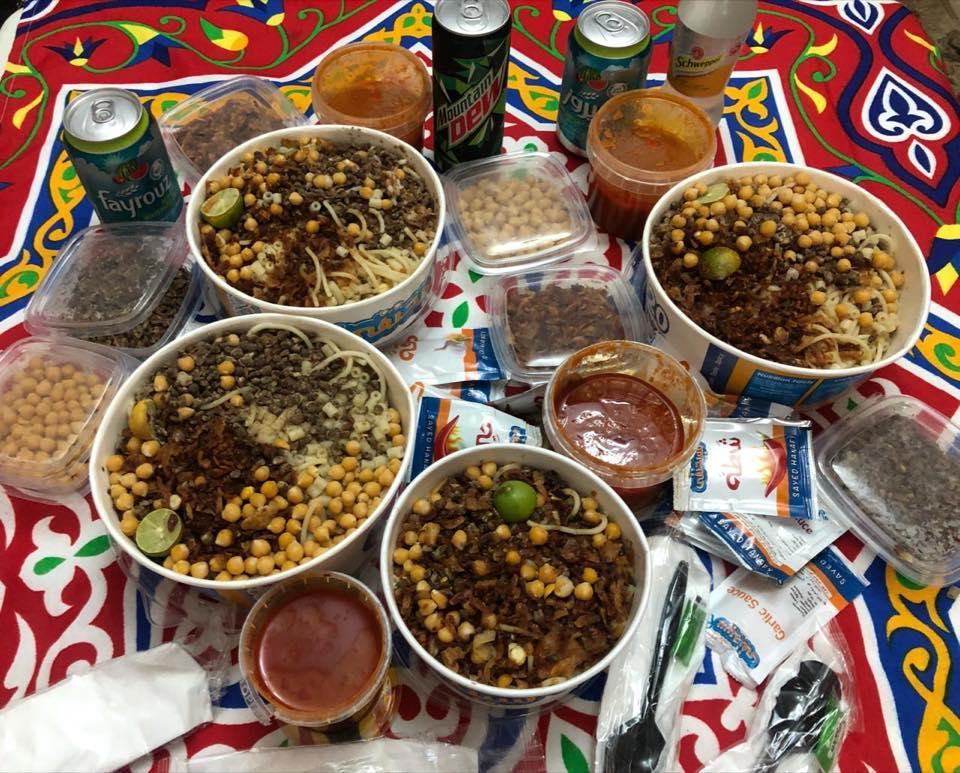 Кошари - традиционная еда Каира