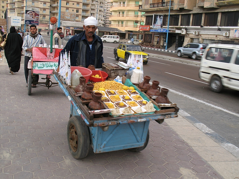 Lupine Street food in Egypt